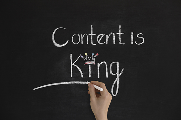 How does website content affect SEO?