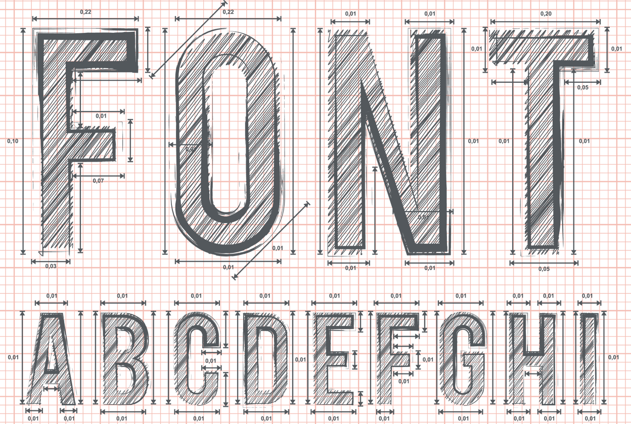 Helpful little guide to fonts