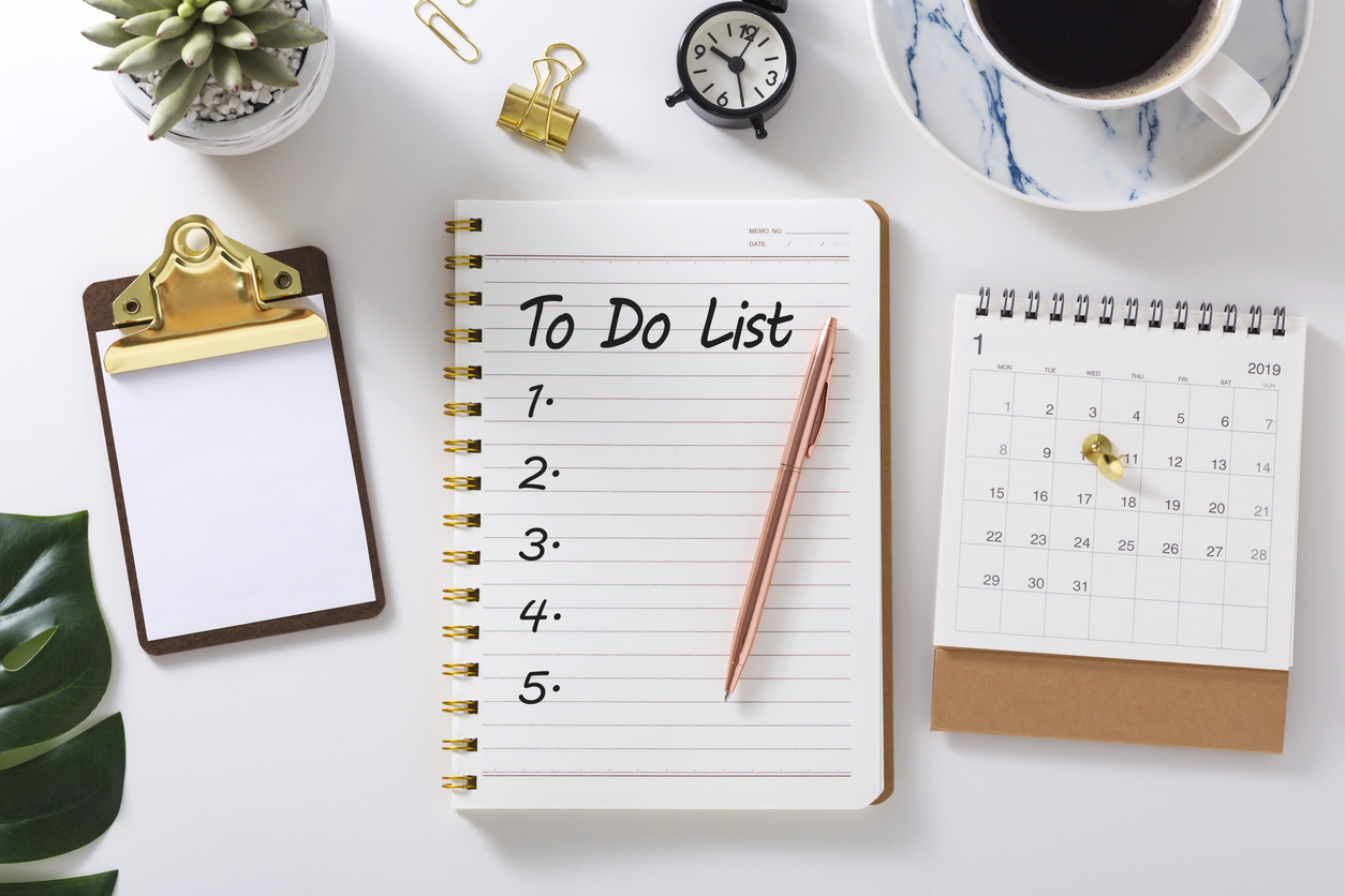 Things to tick off your list